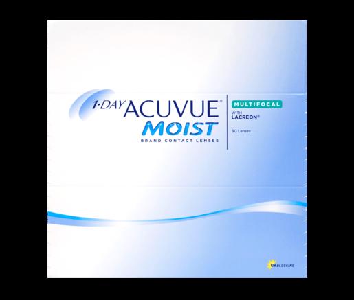 Acuvue 1 Day Moist Multifokal 90 - Kontaktlinsen - Optiker Frankfurt