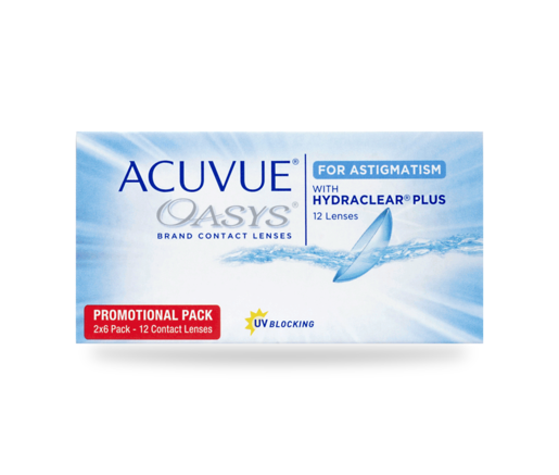 Acuvue Oasys for Astigmatism 12er
