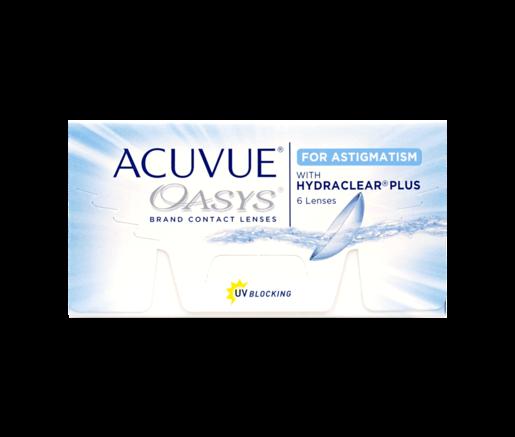 2 Wochen Tauschsystem ACUVUE OASYS for Astigmatism with Hydraclear Plus 6er Box - Kontaktlinsen - Optiker Frankfurt
